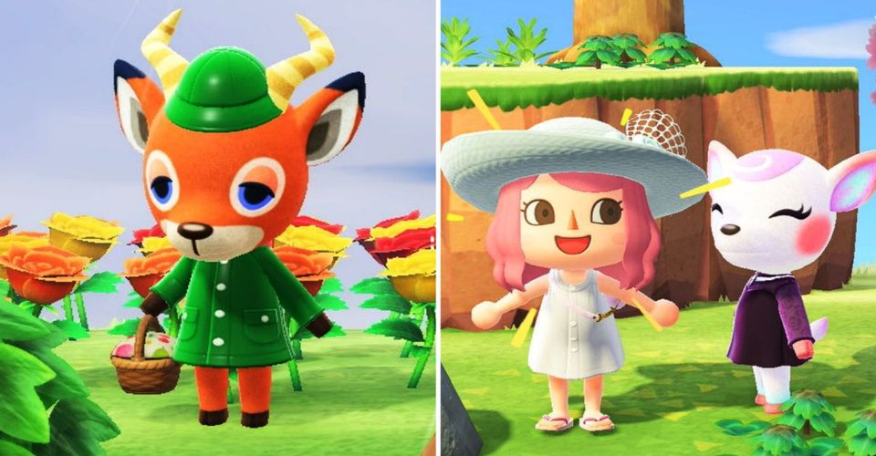 Animal Crossing All Deer Villagers Ranked Thegamer