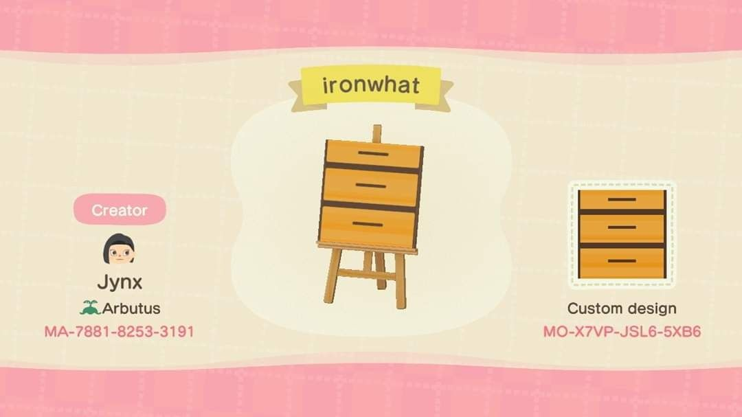 Animal Crossing: New Horizons - How To Make A Knock-Off ... on Ironwood Furniture Animal Crossing  id=18059