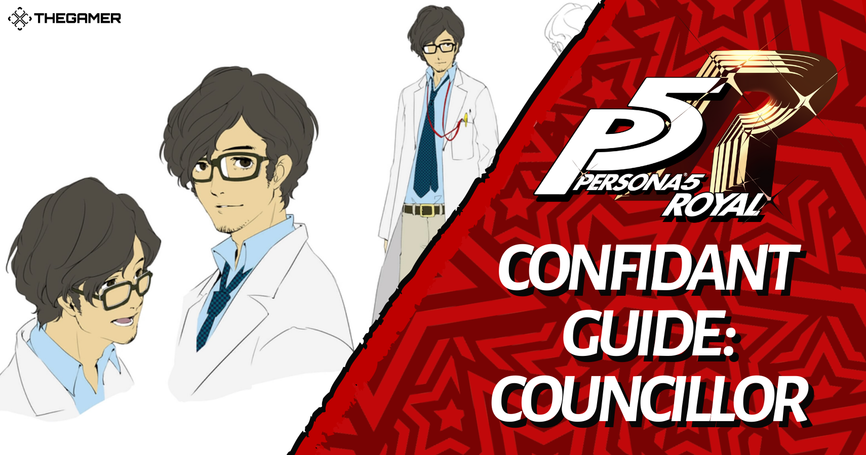 Persona 5 Royal Confidant Guide Councillor Takuto Maruki