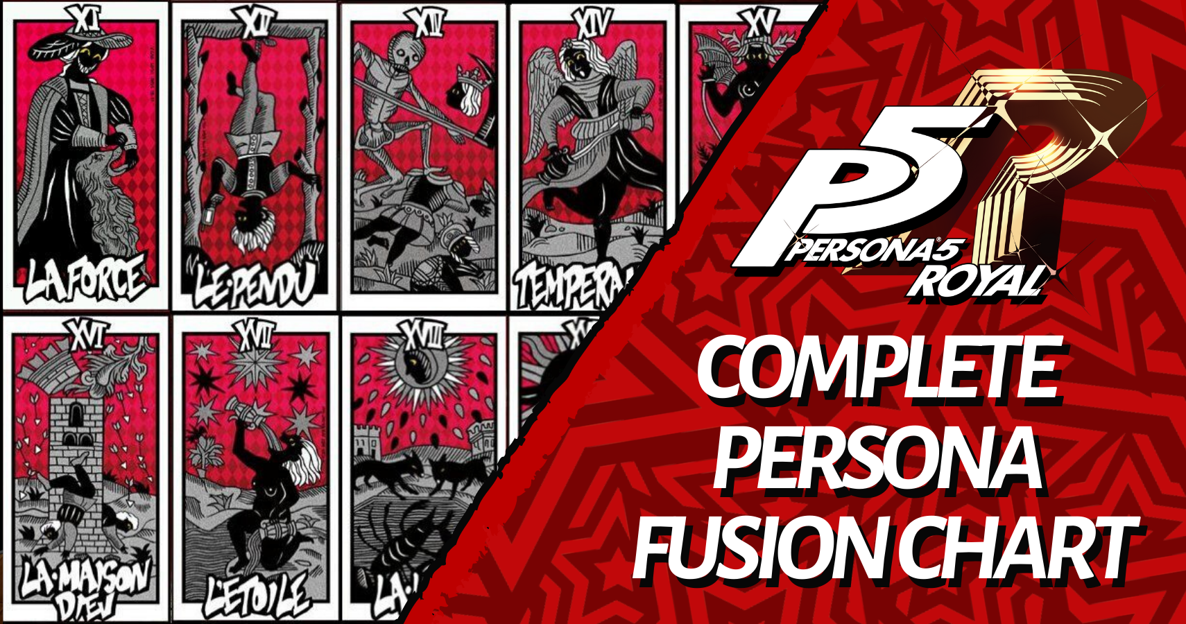 Persona 5 Royal Complete Persona Fusion Chart And Fusion Guide