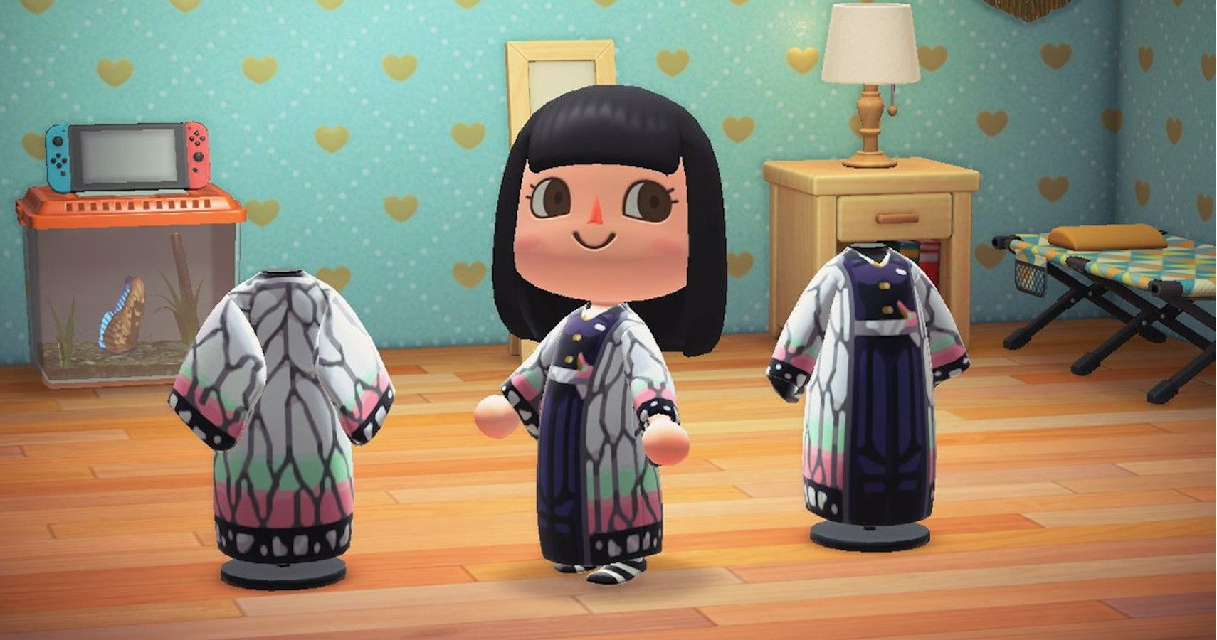 Animal Crossing New Horizons Codes For Demon Slayer Outfits