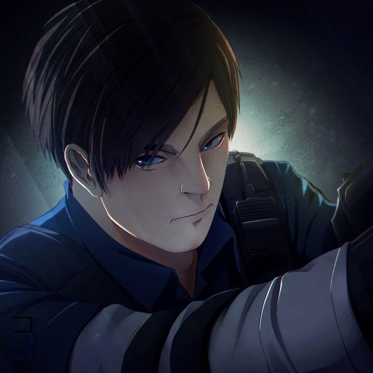 Resident Evil 10 Pieces Of Leon Kennedy Fan Art We Love