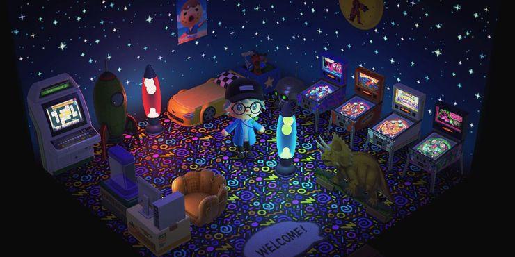 Animal Crossing 10 Amazing Arcade Rooms Thegamer