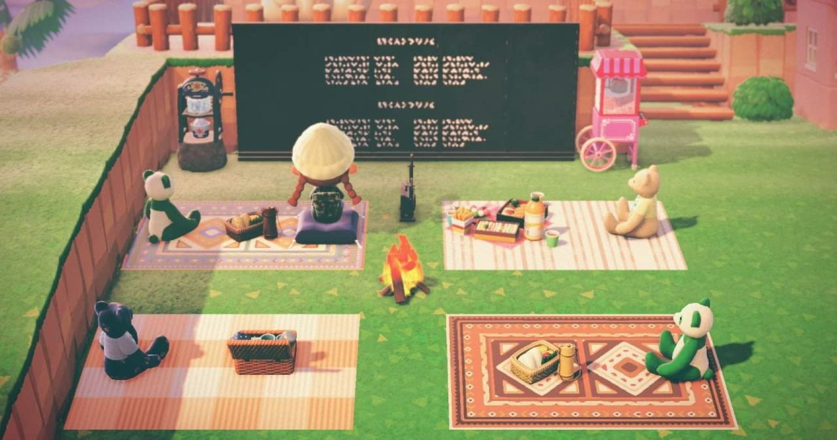 Animal Crossing New Horizons Player Creates Cozy Outdoor Theater