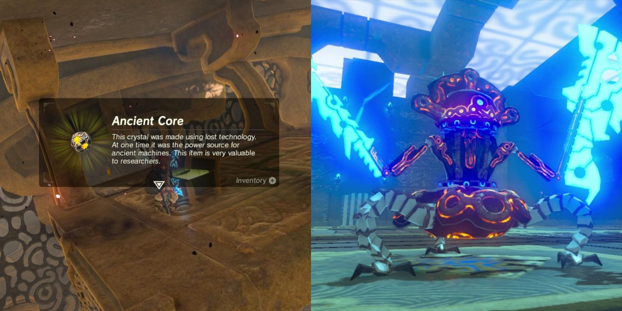 The Legend Of Zelda The 10 Easiest Ways To Obtain Ancient Cores In Breath Of The Wild