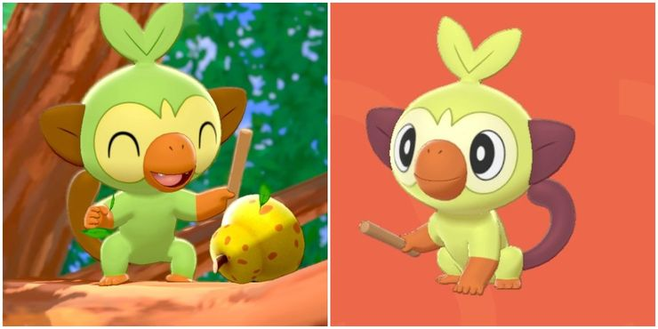 Ranking The Shiny Form Of Every Starter Pokemon Thegamer Check out our shiny grookey selection for the very best in unique or custom, handmade pieces from our shops. ranking the shiny form of every starter