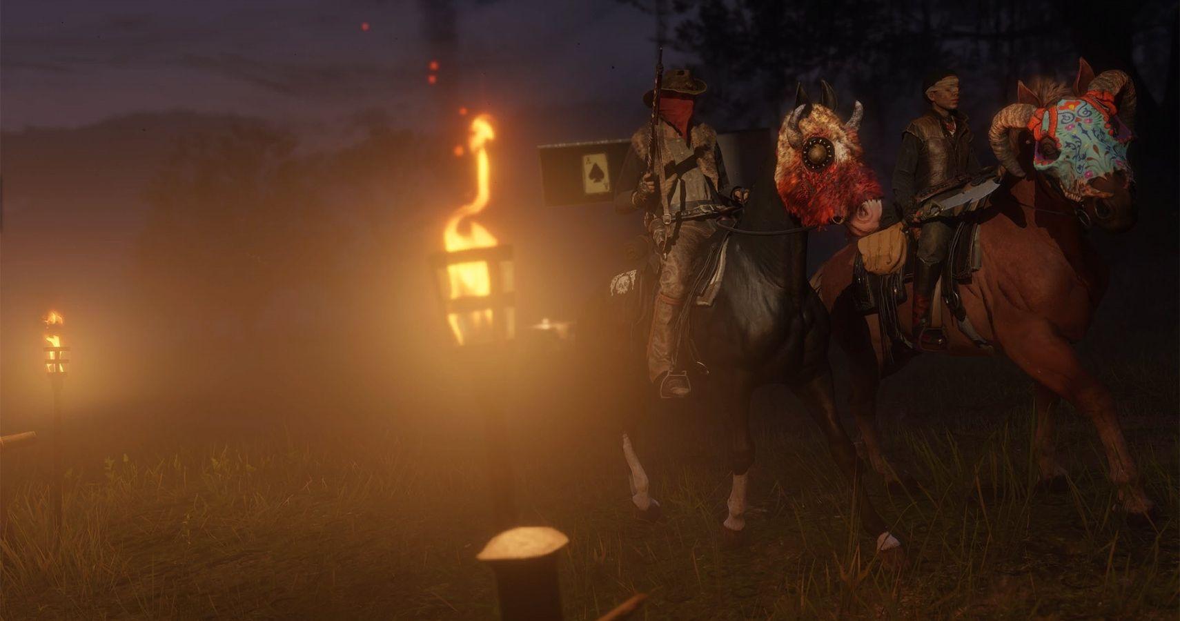 Halloween 2020 Online Leaked Red Dead Online Halloween Pass Leaks Months In Advance | TheGamer