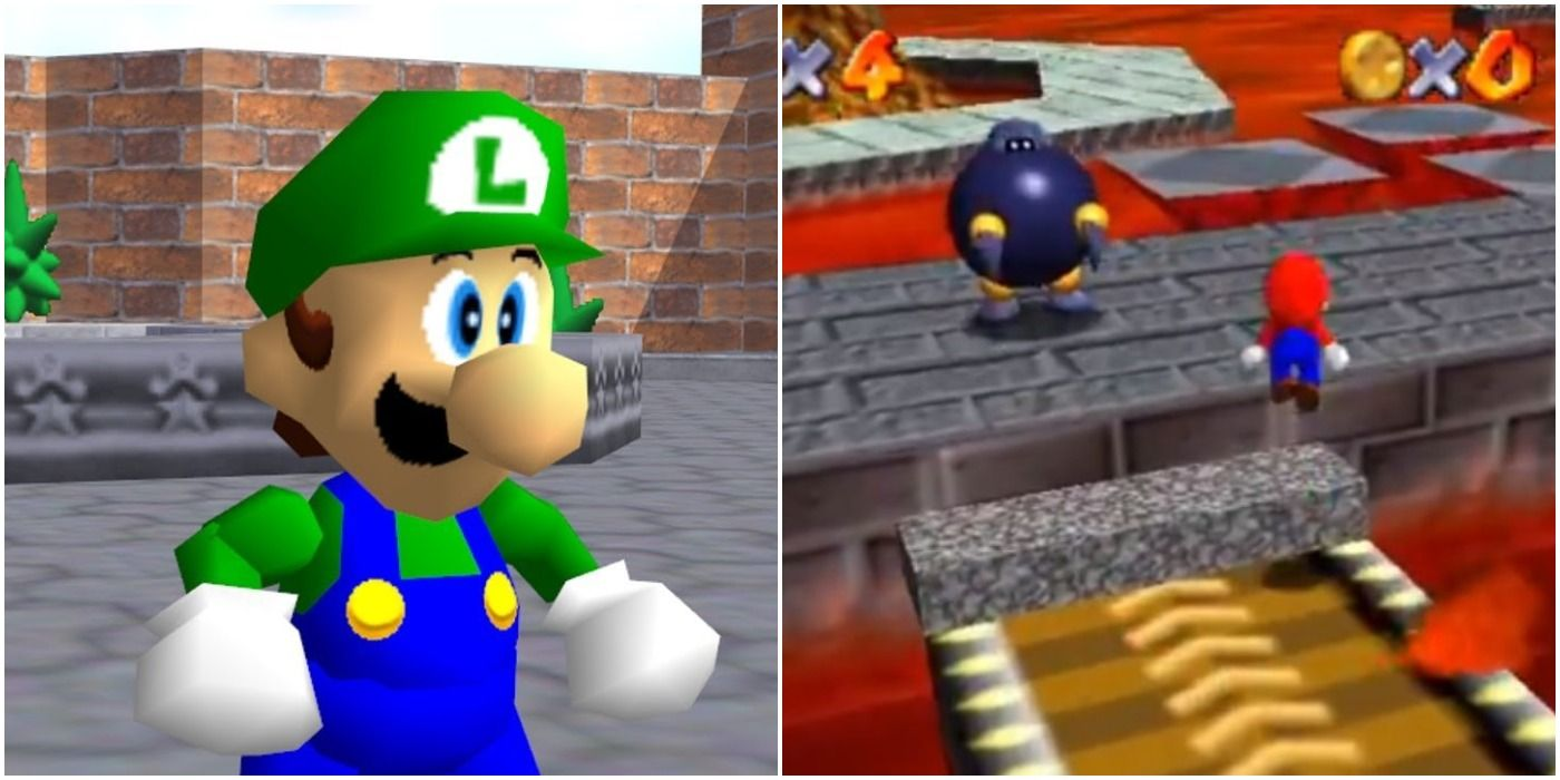 Playable Luigi & 9 Other Things Super Mario 64 Cut Before Release