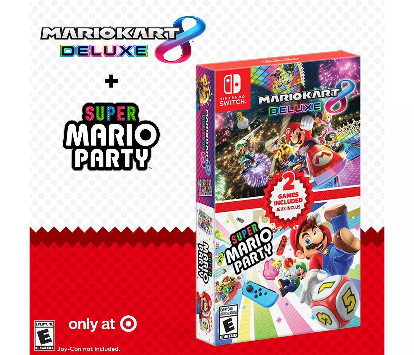 Target Announces Exclusive Mario Kart 8/Super Mario Party Bundle |  Xenocell.com