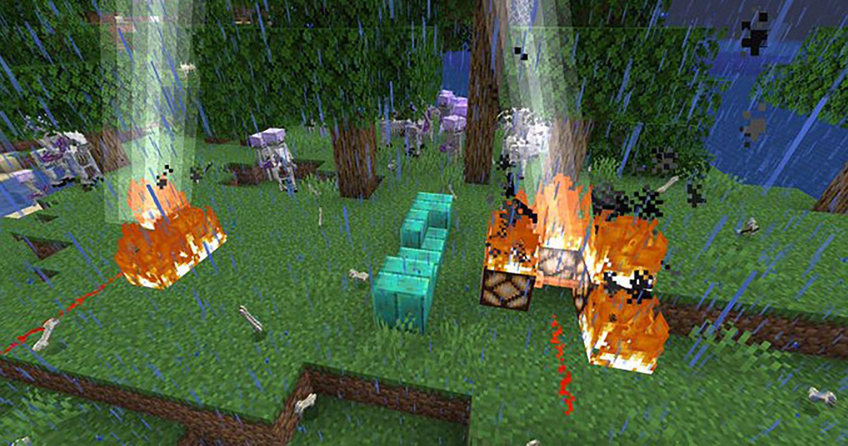 Minecraft Developer Hints At New Redstone Uses For Lightning Rod