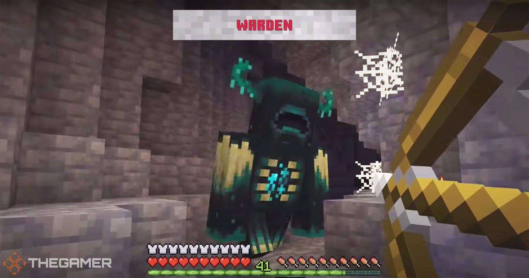 The New Hostile Minecraft Mob, The Warden, Will Haunt Your Dreams
