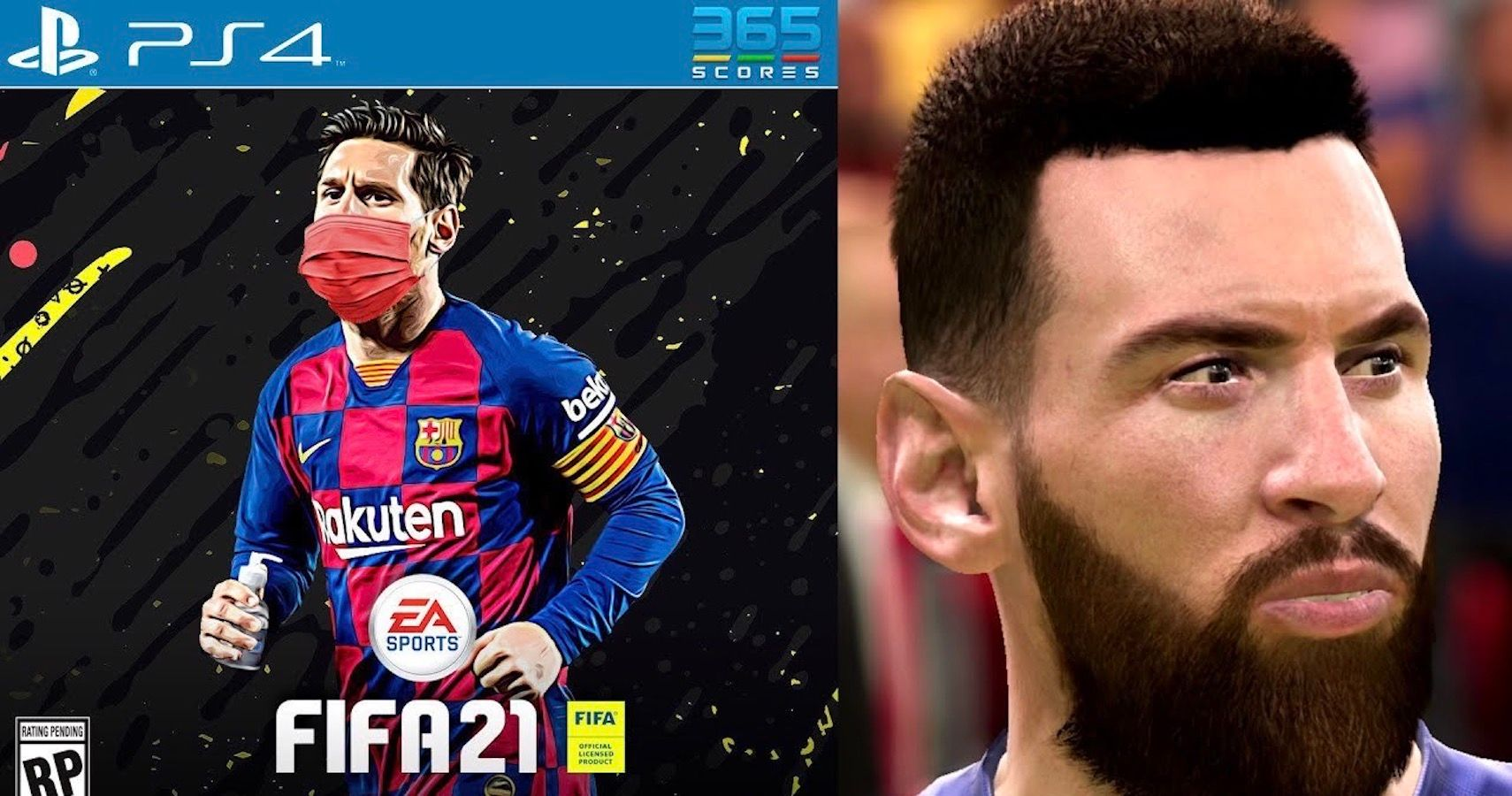 FIFA 21 Updates Messi's Face After Fans Complain He Looked ...