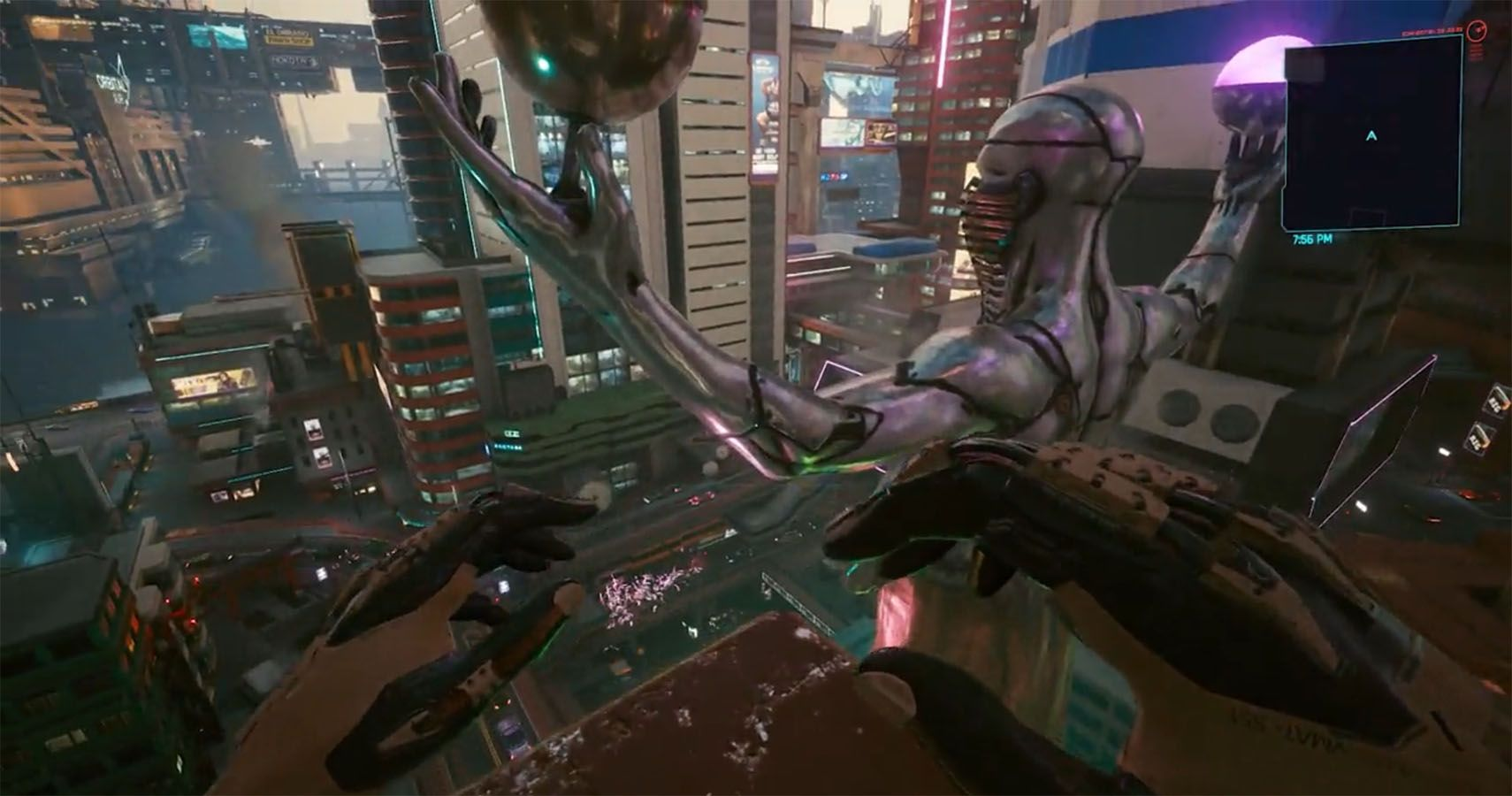 This Cyberpunk 2077 Combination Allows You To Fly Without Glitches