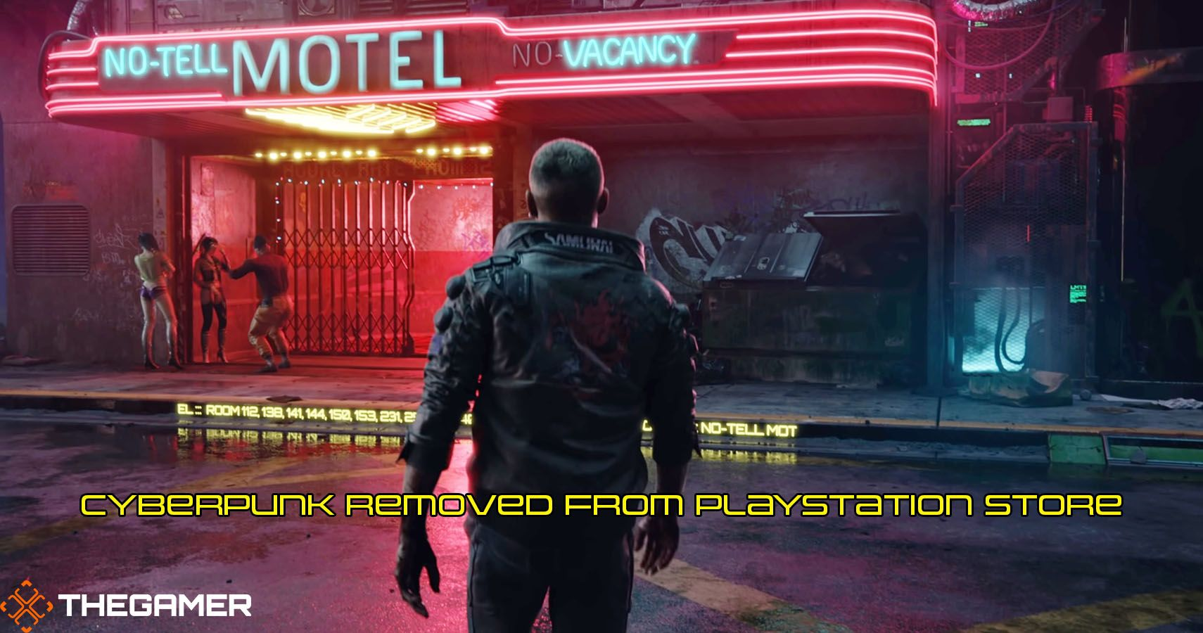 PREVIOUSLY: Sony Removes Cyberpunk 2077 From PlayStation Store, Promises Full Refunds