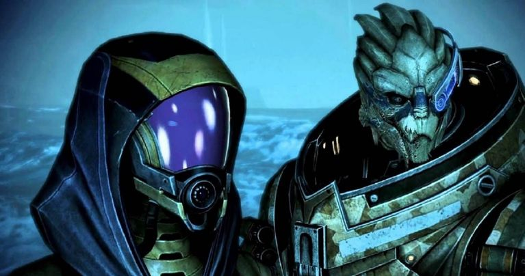 Tali romance mass 1 effect Mass Effect