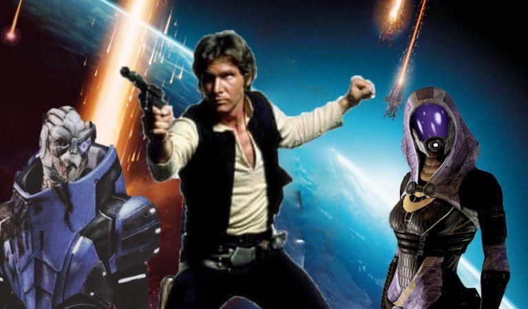 Bioware canceló un spin off de Mass Effect basado en Han Solo 2