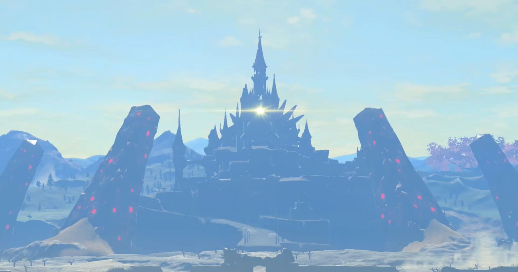 The Walls Of Breath Of The Wild's Astral Observatory Form An Accurate Map Of The Game's Landmarks