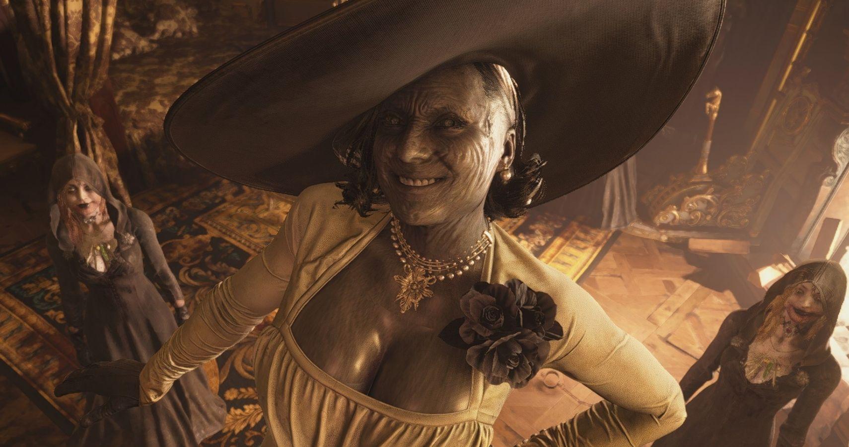 Resident Evil Village Mod Combines Lady Dimitrescu With Mr ...