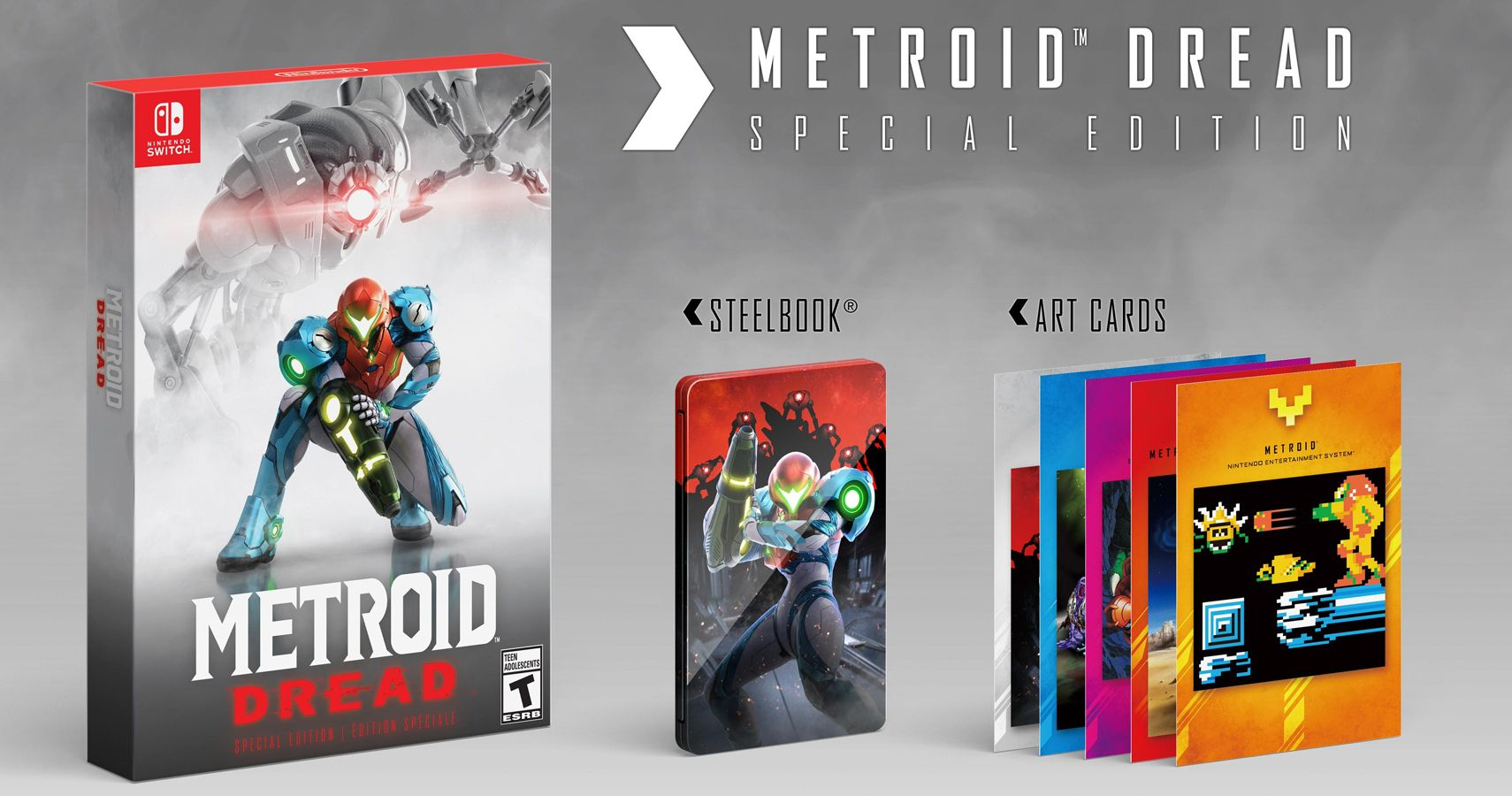 Metroid Dread Is Getting A Seriously Cool Looking Collector's Edition