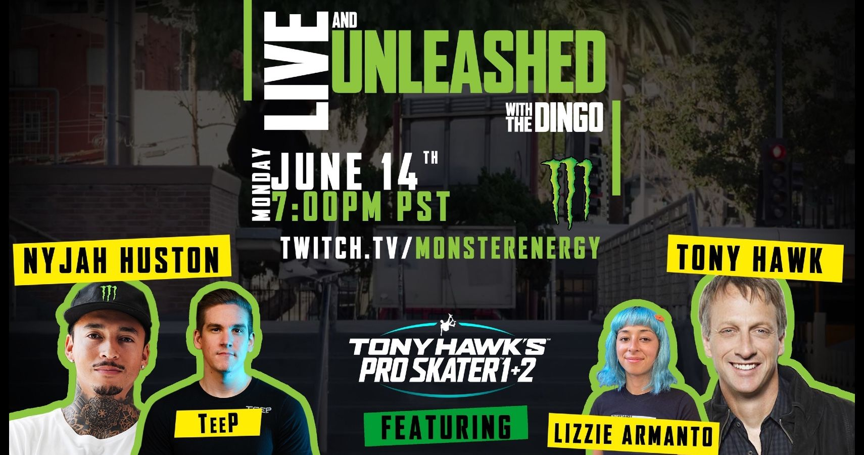 Watch Tony Hawk Compete In Tony Hawk's Pro Skater 1 + 2 On New Twitch Series