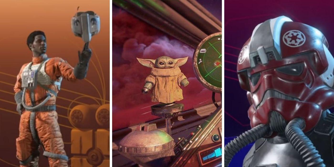 Star Wars Squadrons: 10 Best Cosmetic Unlocks   TheGamer