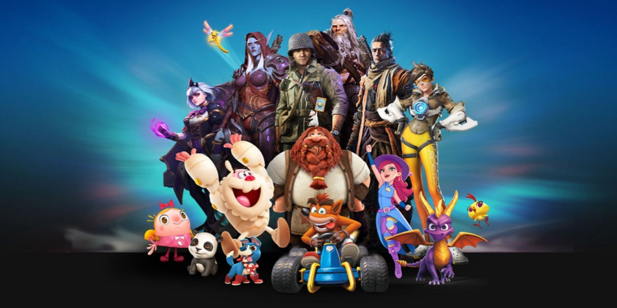 Activision Blizzard Accounts Have Gone Dark Following Allegations
