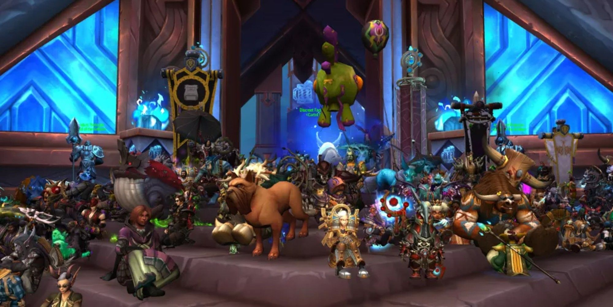 World Of Warcraft Players Protest Against Activision Blizzard In-Game