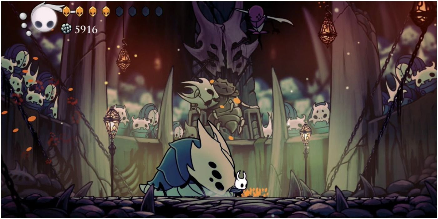 Hollow Knight Traitor Lord How Many Hits