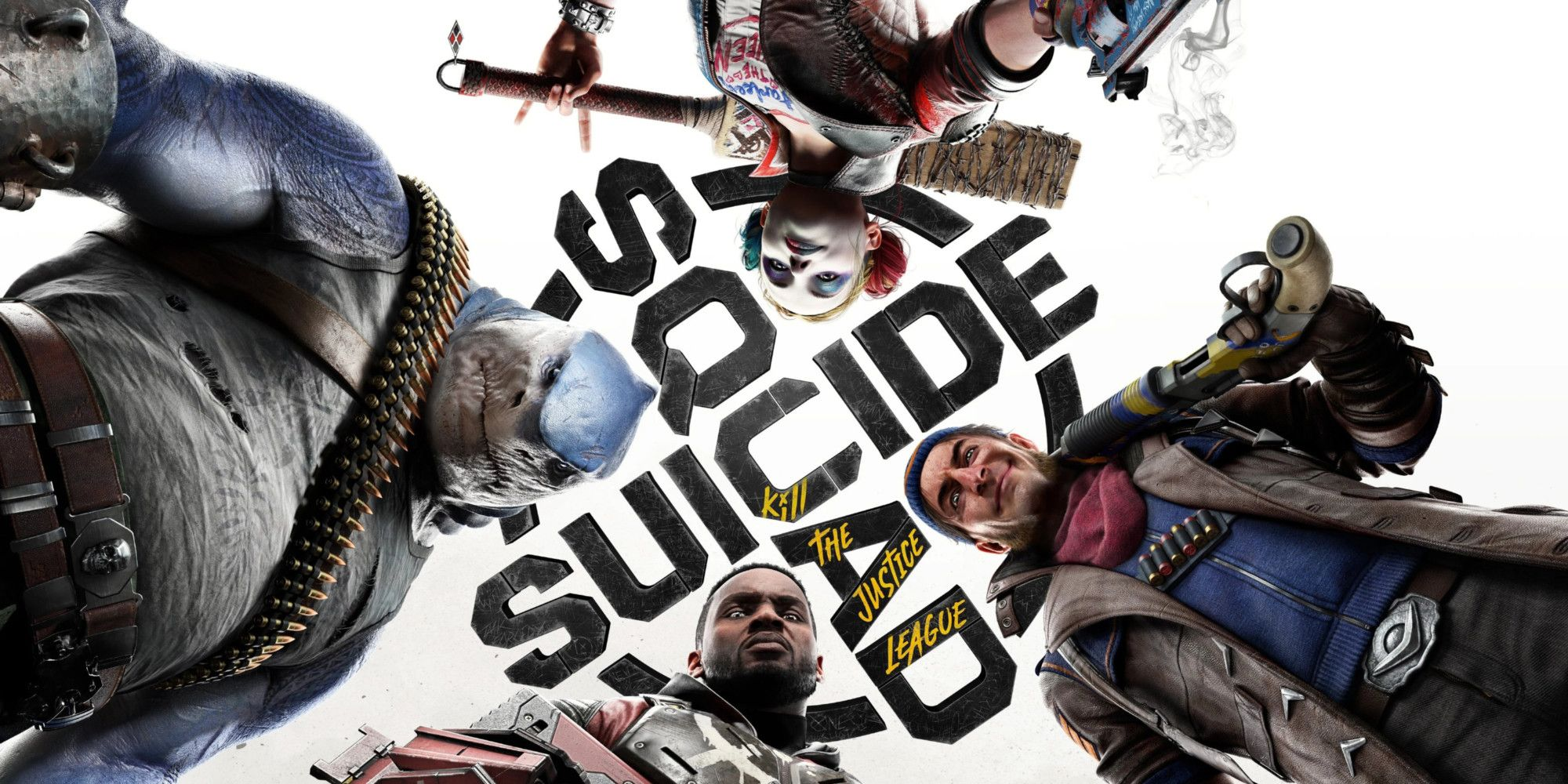 See What It Would Look Like If Harley Quinn Stepped On You In New Suicide Squad Key Art