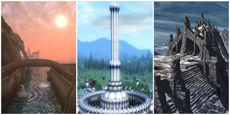 10 Most Iconic Locations From The Elder Scrolls