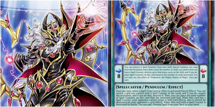 yugioh Endymion, the Mighty Master of Magic